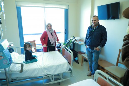 The LPSA visiting our Pediatric Oncology Children - Photos