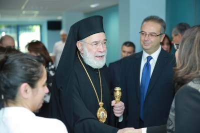 Annual Doctors lunch with H.E. Metropolitan Elias