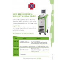 SGHUMC is launching the usage of the Third Generation GreenLight Laser