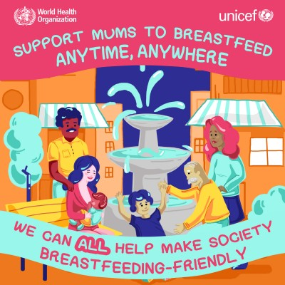Babies and mothers worldwide failed by lack of investment in breastfeeding
