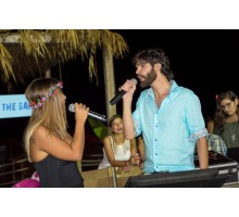 Barefoot In The Sand Karaoke with Aline Lahoud & Mike Massy
