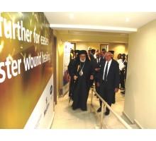 افتتاح عيادة الجروح والمركز التدريبي الجديد في مستشفى القديس جاورجيوس الجامعي